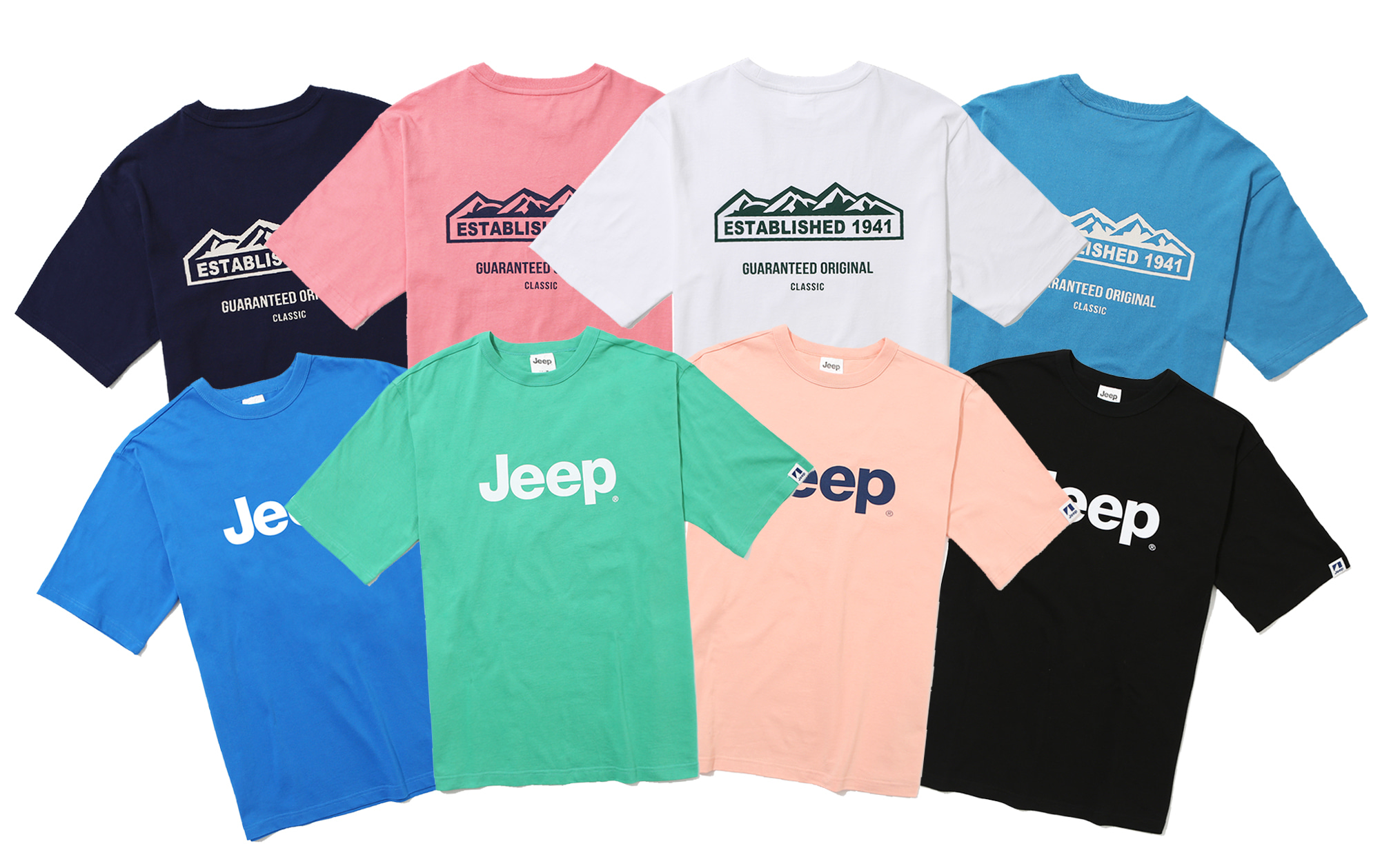 Jeep 2020 Summer T-Shirts