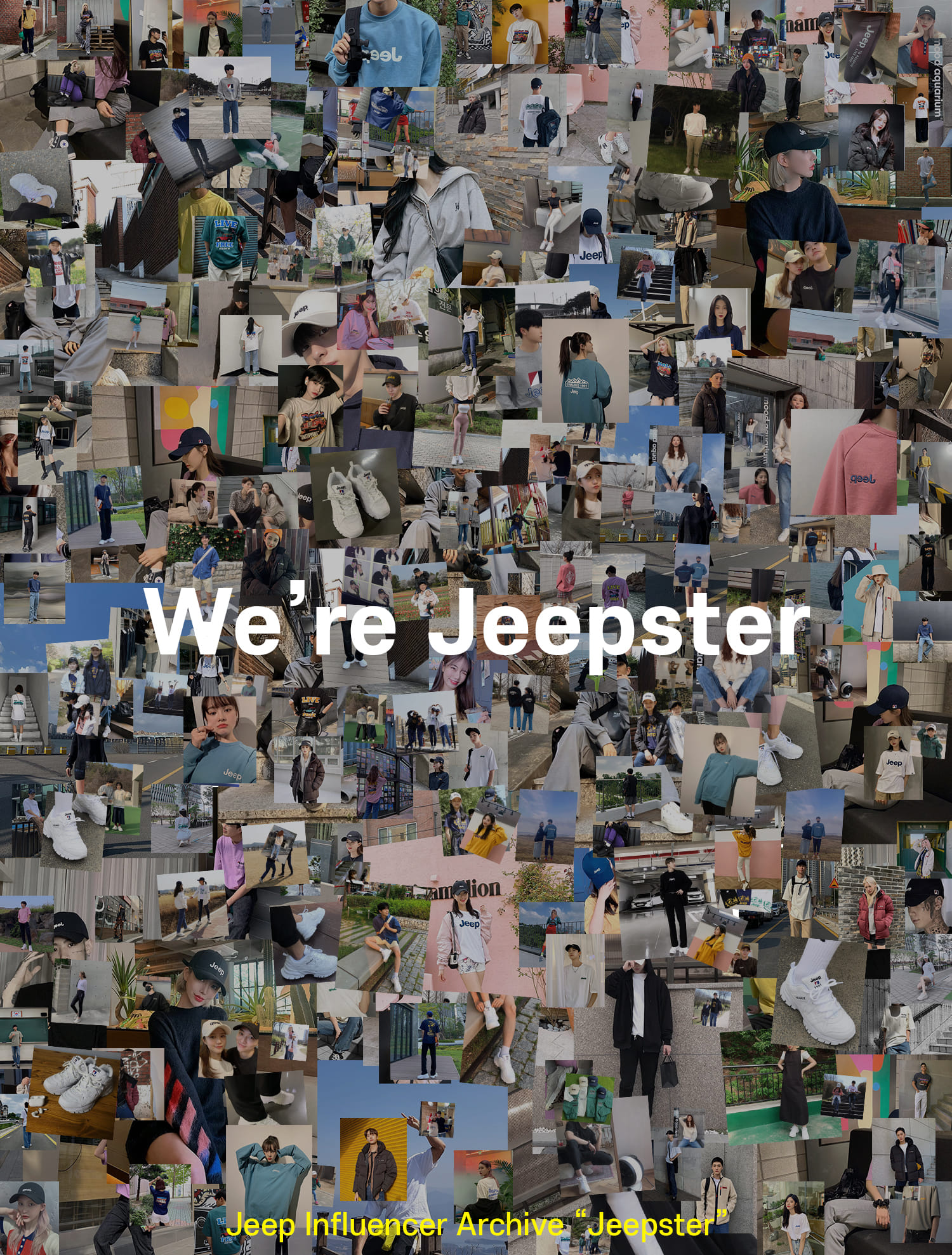 Jeepster : Influencer Crew